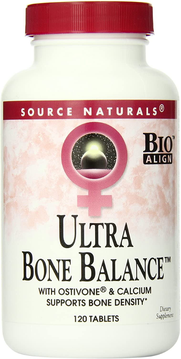 Source Naturals Ultra Bone Balance, Supports Multiple Body Systems, 120 Tablets