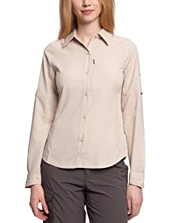 Vaude Farley Chemise Femme Muddy FR : S (Taille Fabricant : 38)