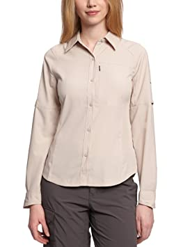 Columbia Ridge Chemise Shirt Silver Sleeve Femme Long D2HIYWE9