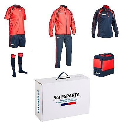 Amazon.com: GEDO Set Esparta Soccer Training Kit, Navy with ...