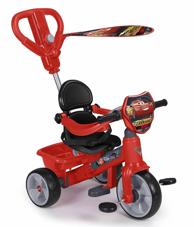 FEBER Famosa 800010946 Trike Ferrari - Dreirad 3 in 1, für Kinder von 1 bis 3 Jahren, rot