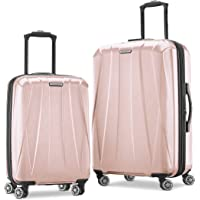 Samsonite Centric 2 Hardside Expandable Luggage with Spinner Wheels, Blossom Pink, 2-Piece Set (20/24)