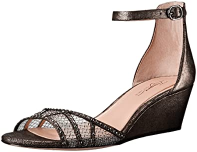 966a405748 Imagine Vince Camuto Women's Joan Wedge Sandal,Anthracite,5.5 ...