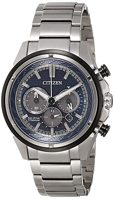 Citizen Chronograph Blue Dial Men's Watch - CA4241-55L Men's Watches at amazon
