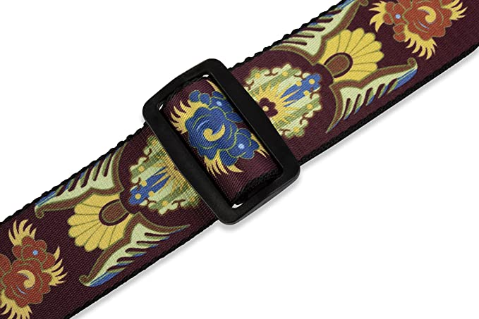 """Levy/'s 2/"""" Polyester Guitar Strap Indian Heirloom MP-25"""