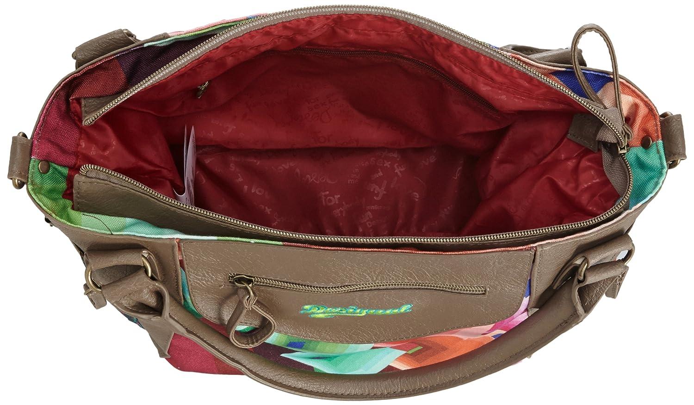 4e42af6cc132 Desigual Women s Top-Handle Bag Multicolour multicoloured  Amazon.co.uk   Shoes   Bags