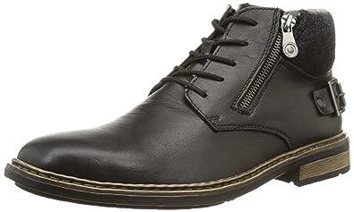 216d38ab288f Rieker F1230 Herren Kurzschaft Stiefel  Amazon.de  Schuhe   Handtaschen