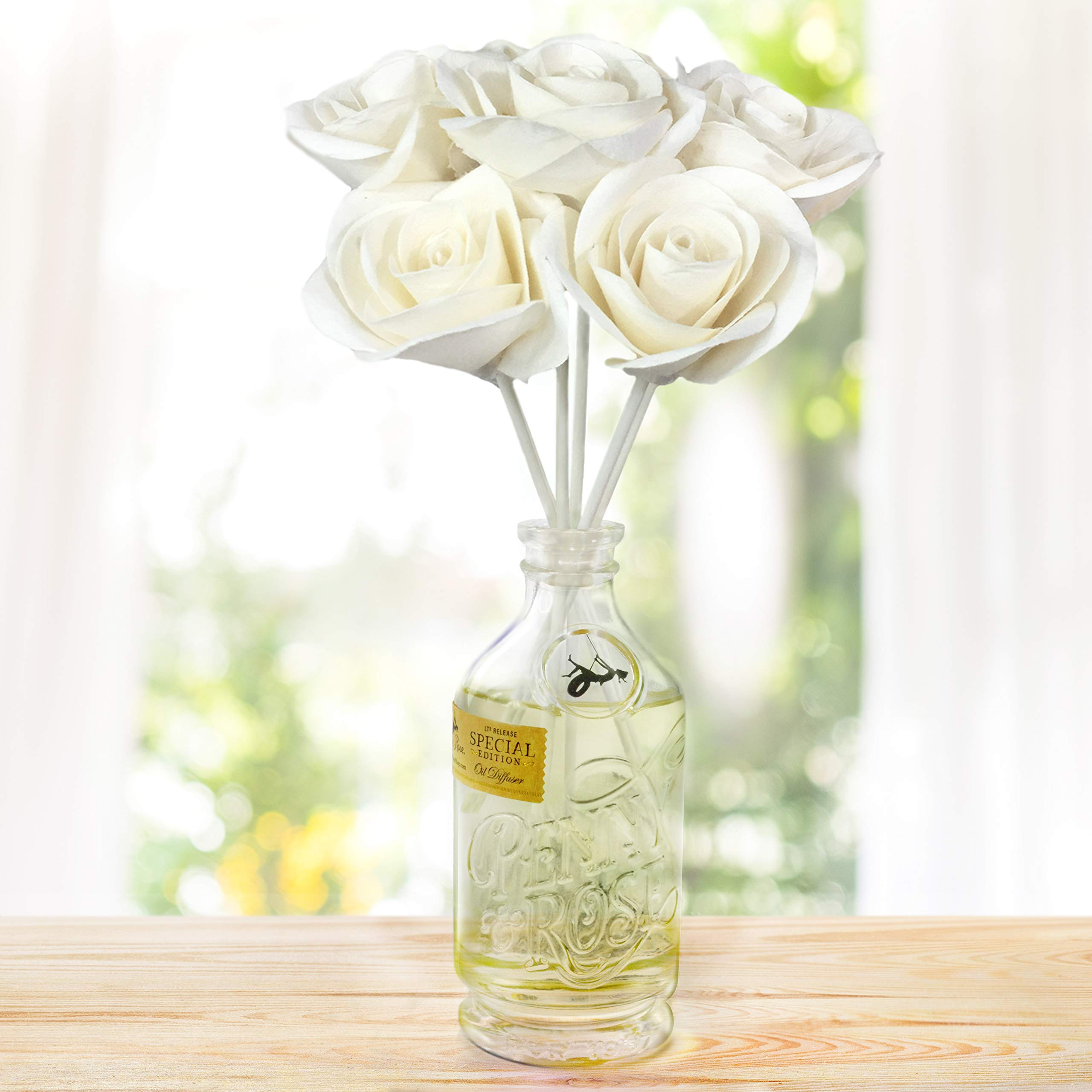 Penny & Rose White Rose Floral Diffuser | Summertime Spirits Oil Scent by PENNY AND ROSE (Image #3)