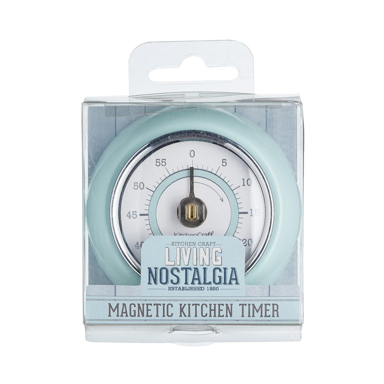 KitchenCraft Living Nostalgia Magnetic Mechanical Kitchen Timer ...