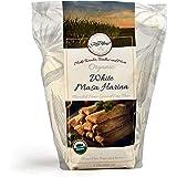 Gold Mine White Corn Masa Harina - USDA Organic - Macrobiotic, Vegan, Kosher and Gluten Free Flour for Healthy Mexican Dishes