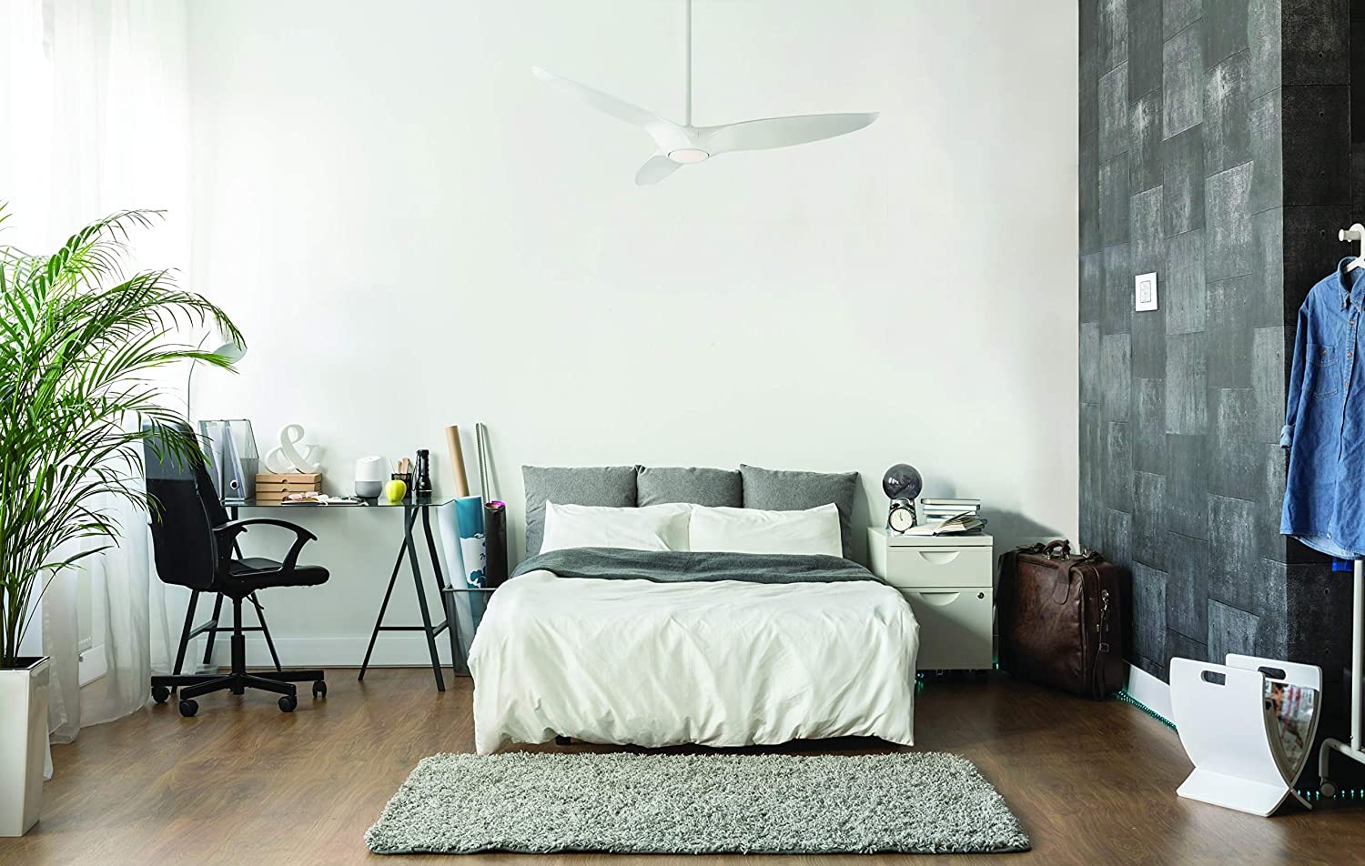 functional smart ceiling fans for your bedroom