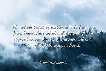 Amazoncom Swami Vivekananda Famous Quotes Laminated Poster Print