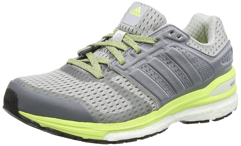 new product e1406 8f58a adidas Damen, Sneaker, Supernova Sequence Boost 8, grau (Clear Grey s12ftwr  WhiteFrozen Yellow f15), 38 Amazon.de Schuhe  Handtaschen