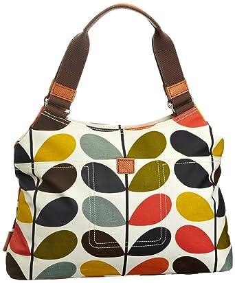 5cd220cb4 Amazon.com: Orla Kiely Matt Laminated Nautical Multi Stem Classic Shoulder  Bag: Clothing