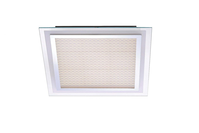 LED-Deckenleuchte 39.06 W Warm-Weiß Paul Neuhaus Foil 6386-17 Chrom Chrom Chrom 69c7f2