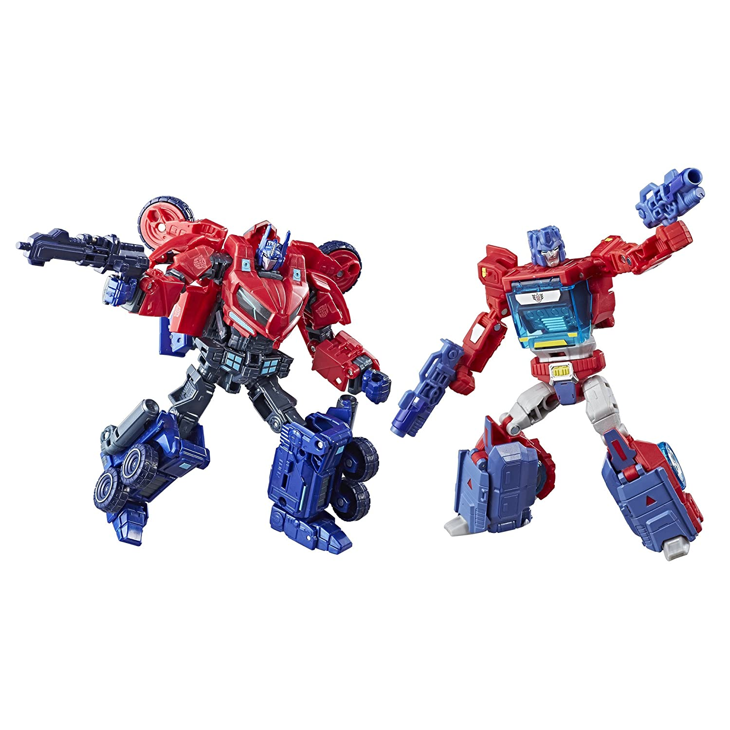 Transformers Deluxe Class Optimus Prime Autobot Legacy 2-Pack (Amazon Exclusive) Hasbro C2027