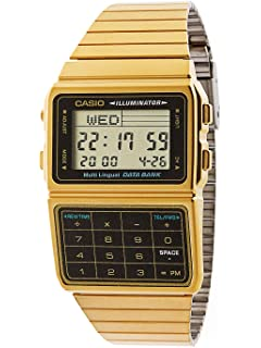 17604c5d648 Amazon.com  CASIO Men s Digital World TIME A500WGA-1DF Stainless ...