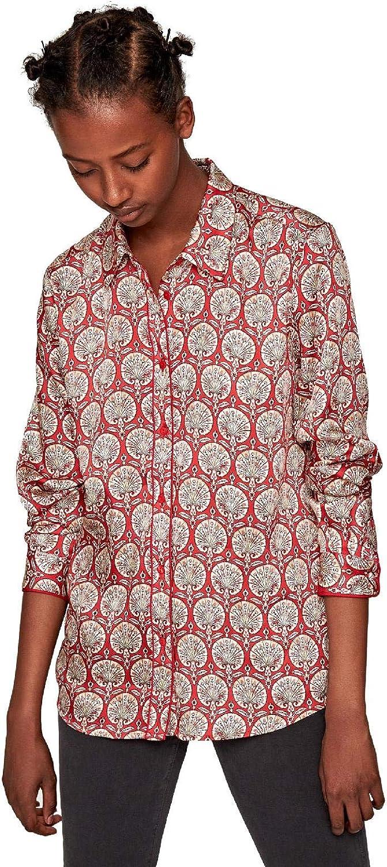 Pepe Jeans - Camisa Domenica Mujer Color: 0AA Multi Talla: Size XL: Amazon.es: Ropa y accesorios