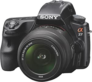 Sony SLTA37K - Cámara réflex Digital de 16.1 MP (estabilizador de ...