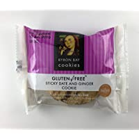 Byron Bay Cookie Company Gluten Free Sticky Date and Ginger Cookies, 60 g