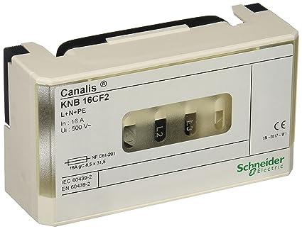 50//60 Hz 63 A Blanc 3L+N+PE 230-500V Schneider Electric KNB63SM48 Canalis Unit/é de D/érivation pour P/ériph/érique Modulaire 4 P/ôles Modules 8 x 18 mm