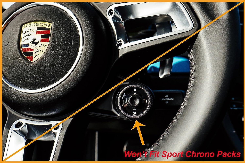 De fibra de carbono volante Paddle Shifter extensiones PDK para Porsche: Amazon.es: Coche y moto