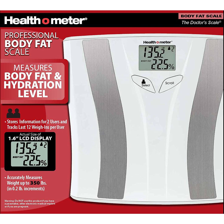 amazon com health o meter bfm883dq1 01 body fat monitoring scale rh amazon  com