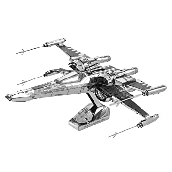 Fascinations Metal Earth - Maqueta metálica Star Wars PoE Dameron X-Wing Fighter