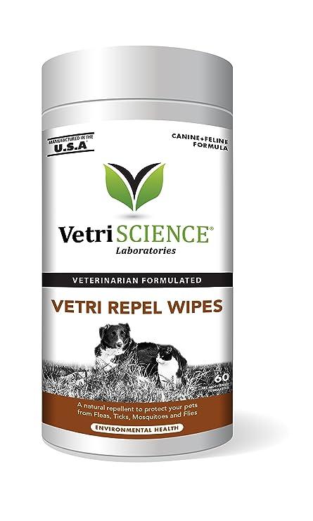 Repelente de Vetri, pulgas naturales y repelente de garrapatas para gatos y perros, 60