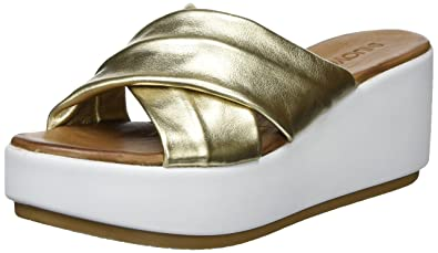 Inuovo Damen 8696 Zehentrenner, Gold (Gold), 40 EU