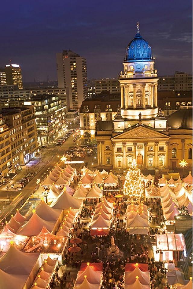 クリスマス ベルリン/クリスマスマーケット iPhone(640×960)壁紙 画像61445 スマポ