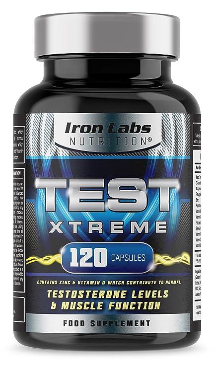 TEST XTREME® - El suplemento de ayuda con la testosterona DEFINITIVO | Suplemento para deportes