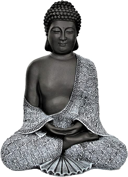 Garden Cast Stone Buddha sculpture ornament