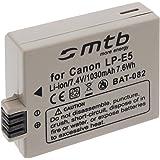 Battery LP-E5 for Canon EOS Kiss X2, Kiss X3 / Rebel T1i, XS, XSi