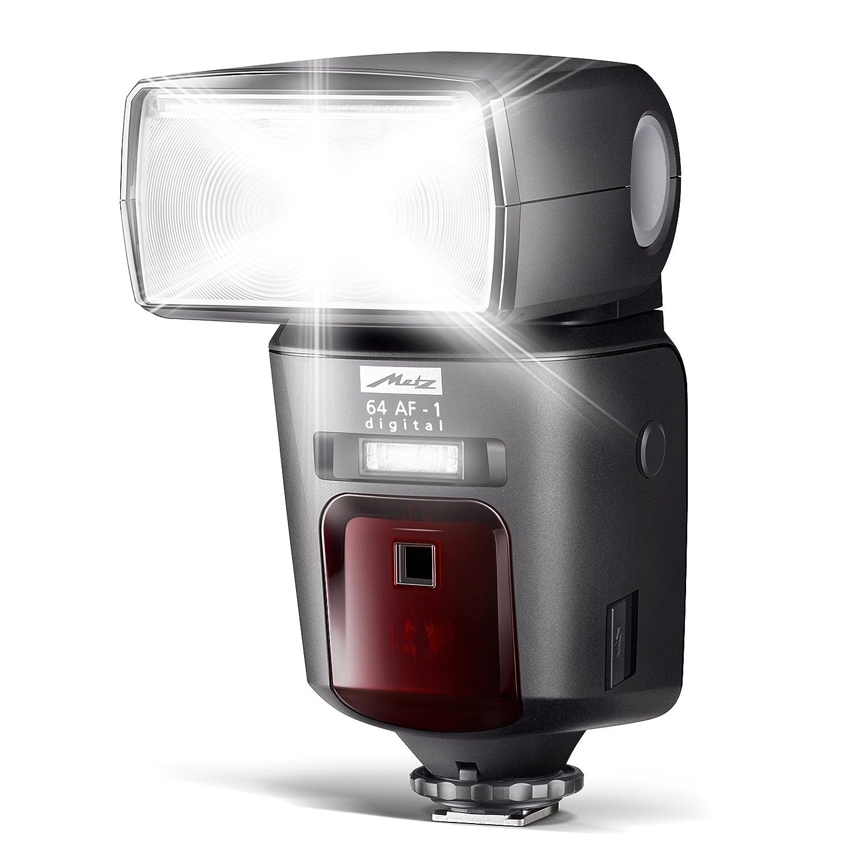 Metz Mecablitz 64 AF-1 Digital - Flash con Zapata para Canon, Negro
