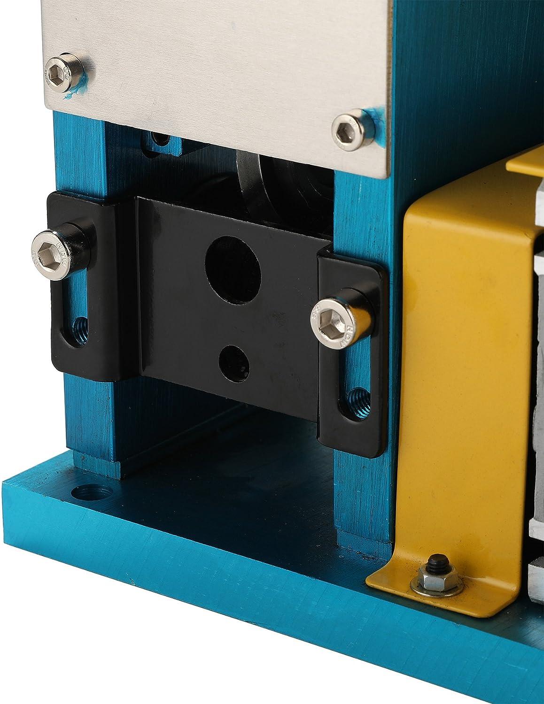 CO-Z Wire Stripping Machine 1.5mm to 38mm Diameter with 11 Channels Wire Stripping Machine Tool Manual Hand Cranked Industrial Wire Stripping Equipment