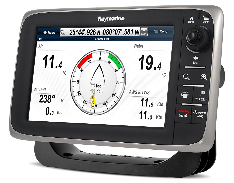 Display Raymarine E70012-Lnc C Series C97 Multifuncional (22,9 Cm (9 Pulgadas) Incorporado Fishfinder, Li