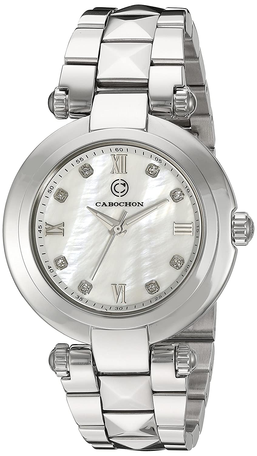 Cabochon Women s CABOCHON-16088-22 Cairo Analog Display Quartz Silver Watch
