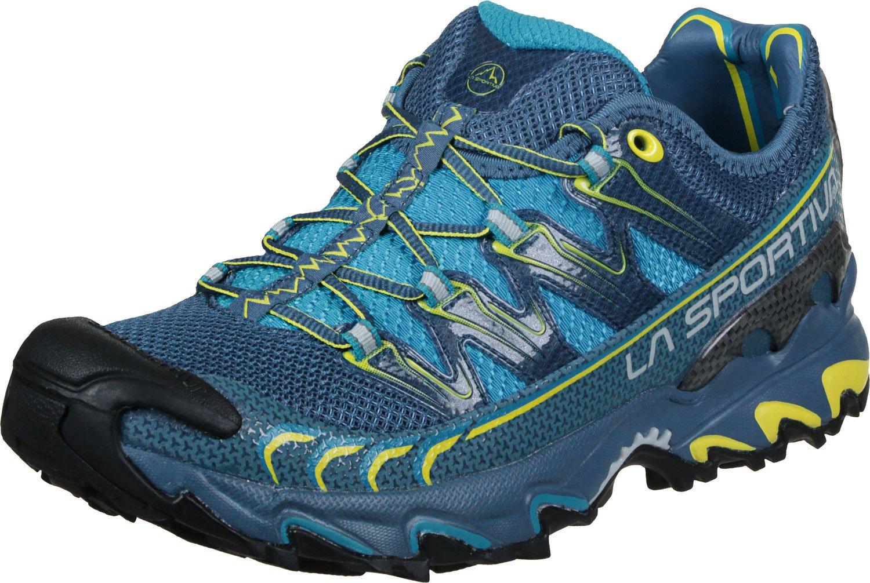 La Sportiva Ultra Raptor, Zapatillas de Trail Running para Hombre 45.5 EU|Blue/Sulphur