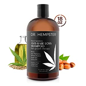 Hair Loss and Biotin Shampoo - Thickens & Enriches Thinning Hair for Men & Women - Potent Natural Organic Ingredients - No Parabans or Sulphates - Vegan, All Hair Types 18 fl Oz (Shampoo)