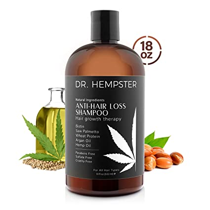 Hair Loss and Biotin Shampoo - Thickens & Enriches Thinning Hair for Men & Women - Potent Natural Organic Ingredients - No Parabans or Sulphates - Vegan, All Hair Types 18 fl Oz (Shampoo) best men's shampoo for thinning hair