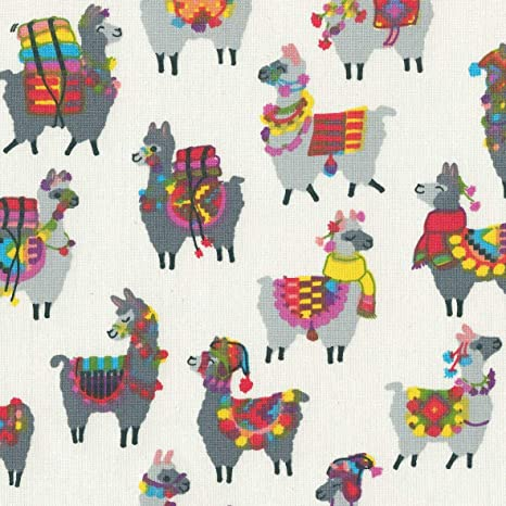 Textiles Français Tessuto Stampato I Lama Alla Moda Sfumature