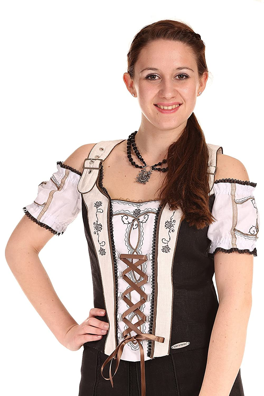 Spieth & Wensky Damen Mieder Tudor schwarz