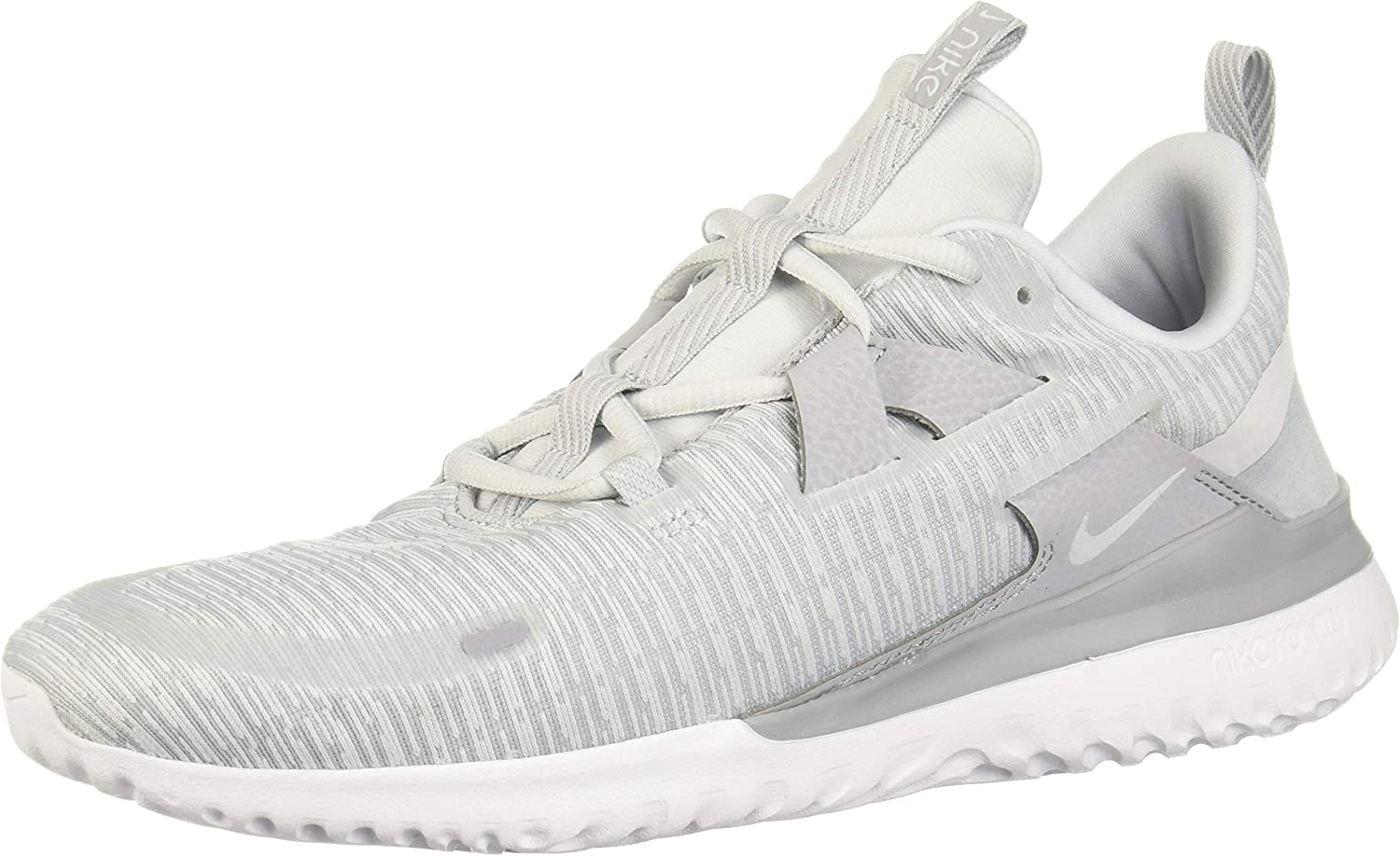 Nike Mens Renew Arena Running Shoes, Wolf Grey Pure Platinum White