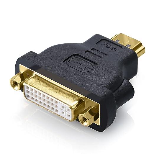5 opinioni per CSL- HDMI su DVI adattatore / convertitore | HDMI Maschio a DVI-D Femmina |