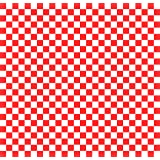 Wax Paper Food Basket Liners - Deli / BBQ Sandwich Wrap - Red / White Checkered - 50 Square Sheets 12x12""