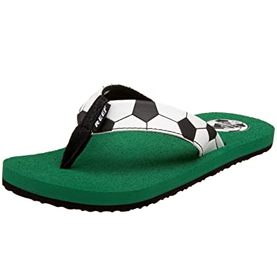 a7467891c04b Reef Grom Football Flip Flop (Toddler Little Kid Big Kid)