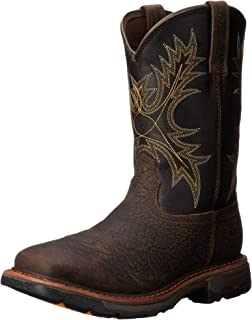 Amazon.com | Ariat Men's Workhog Wide Square Toe Work Boot | Western