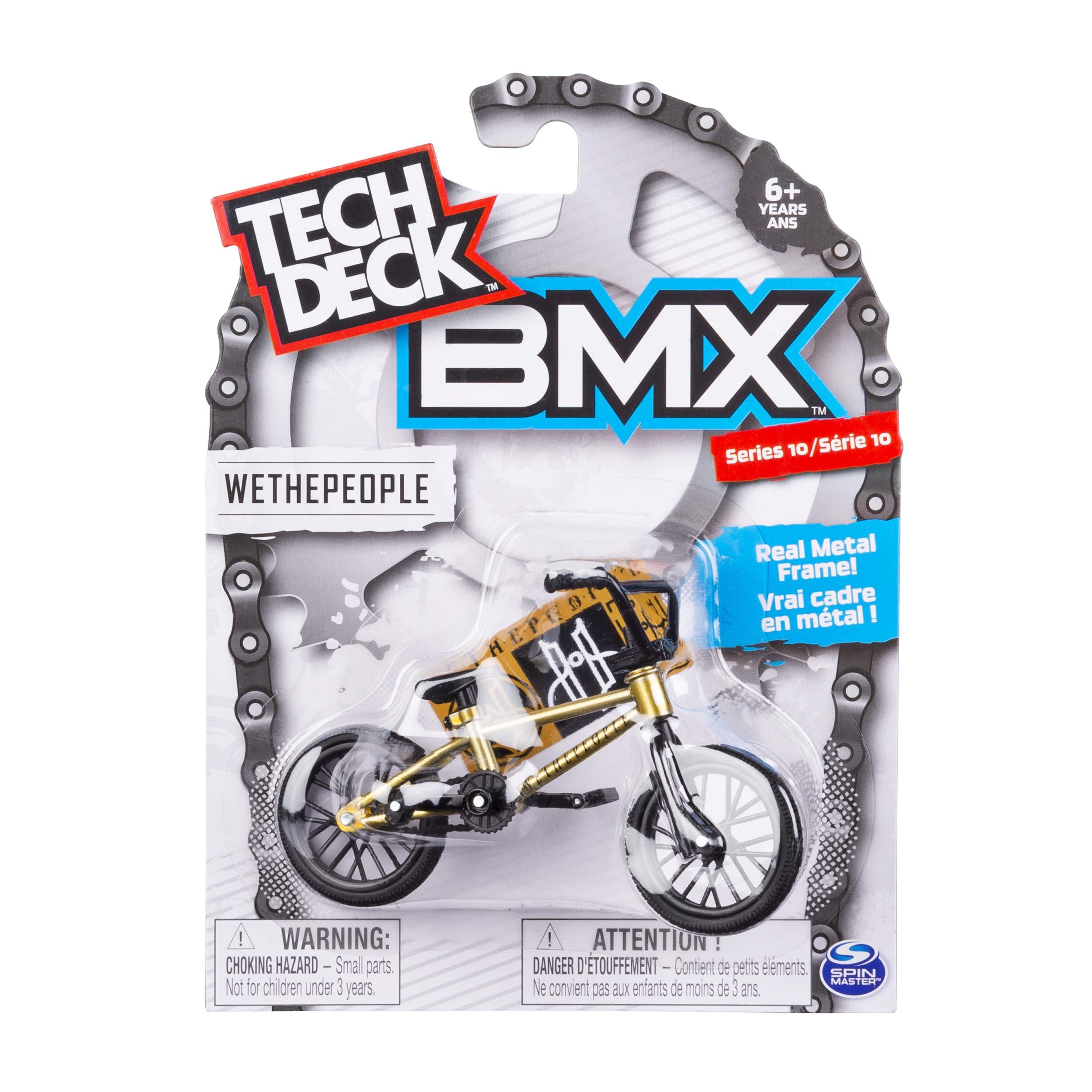 Tech Deck BMX We The People Series 10 Real Metal Gold Frame Bike Mini Finger Bike