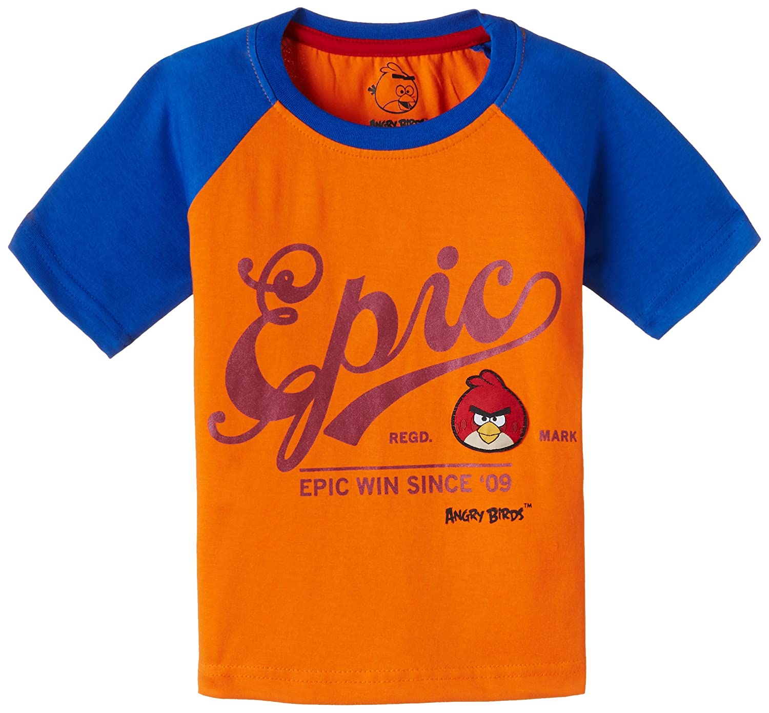 Buy Angry Birds Boy's T-Shirt at Amazon.in